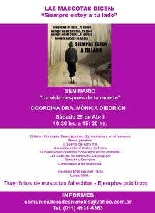 """Workshop - Seminario """"La vida despues de la Muerte"""""""